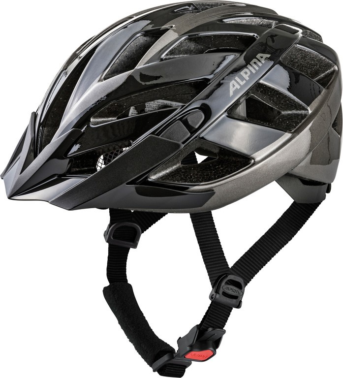 Cyklistická helma Alpina Panoma 2.0, black-anthracite vel.52-57cm