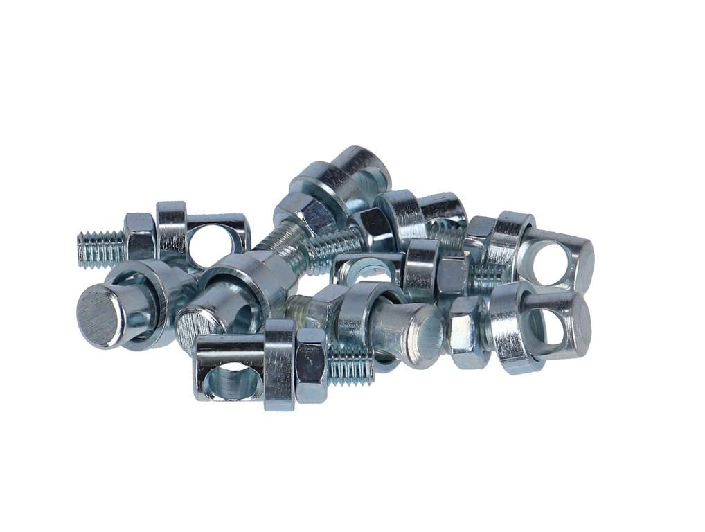 Šrouby M 5 x 10 mm, Sácek 10 ks pozink, vývrt. 5,3mm