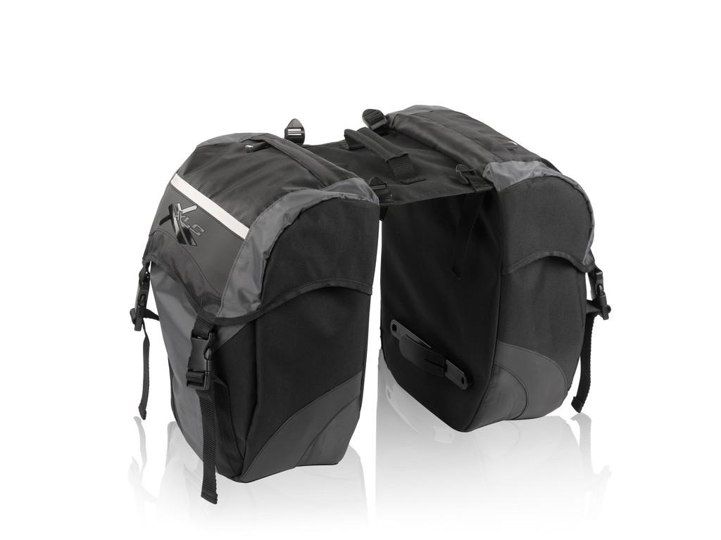 Brašny na nosič XLC BA-S41 černo-antracitové