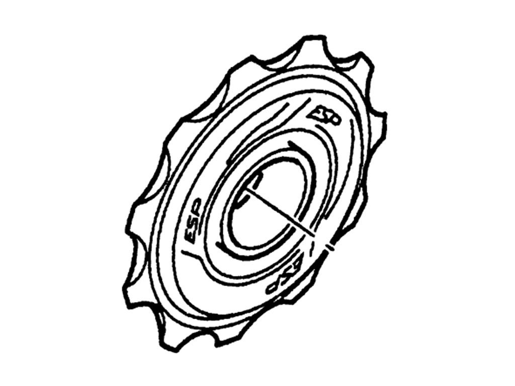 Kladky pro přehazovačky 05-09 X9 (střední i dlouhlé vodítko)