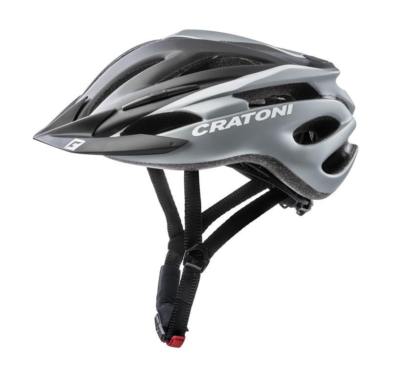 Cykl.helma Cratoni Pacer (MTB), vel.XS/S (49-55cm) cerná/bílá matná