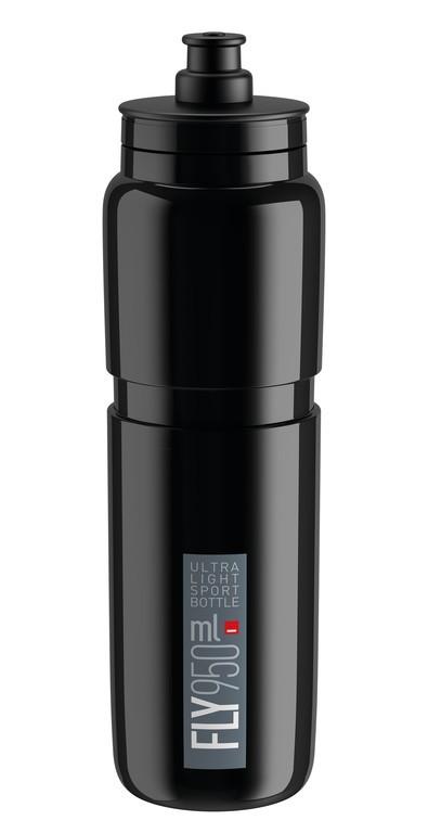 Láhev na pití Elite Fly, 950ml, cerná/šedá