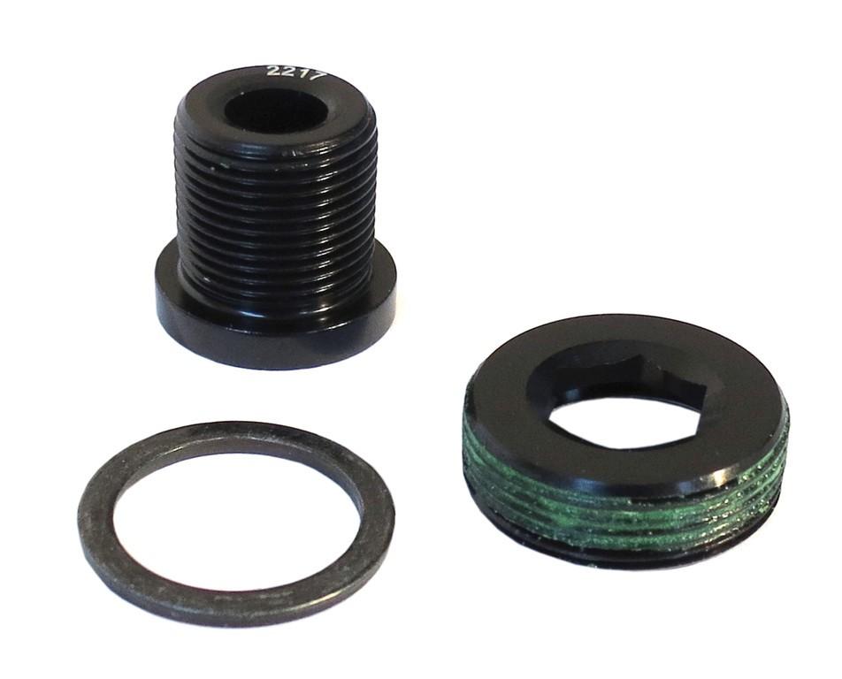 Šrouby pro kliky M15/M22 GXP SELF EXTRACTING, černé