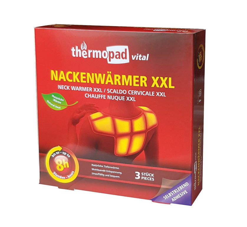 Thermopad Neck Warmer XXL 8h (3 ks)