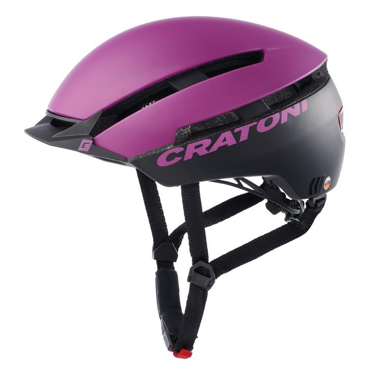 Cratoni C-Loom fialová/černá (53-58 cm)