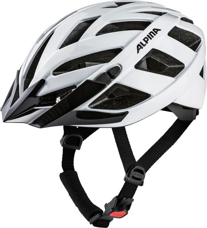 Cykl.helma Alpina Panoma Classic, bílá vel.52-57