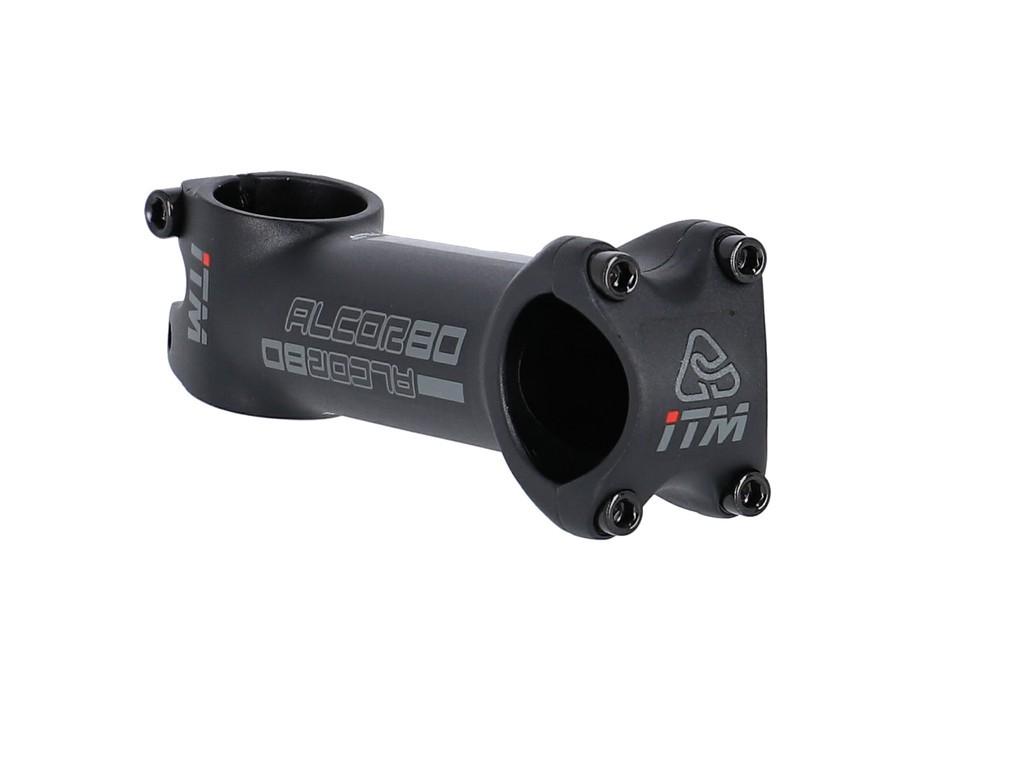 """A-Head Predstav.ITM Alcor80 cern.Alu6061,1 1/8"""",Ø31,8mm,10°,110mm,hliník.mat.crn"""