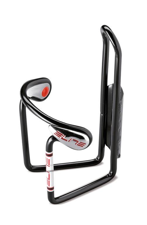 Košík na cyklistickou láhev Elite Ciussi Gel Černý