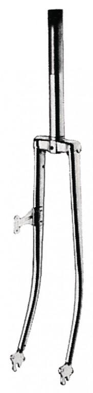 """sportovní vidlice 26"""" chrom 1"""", 185mm/70mm"""