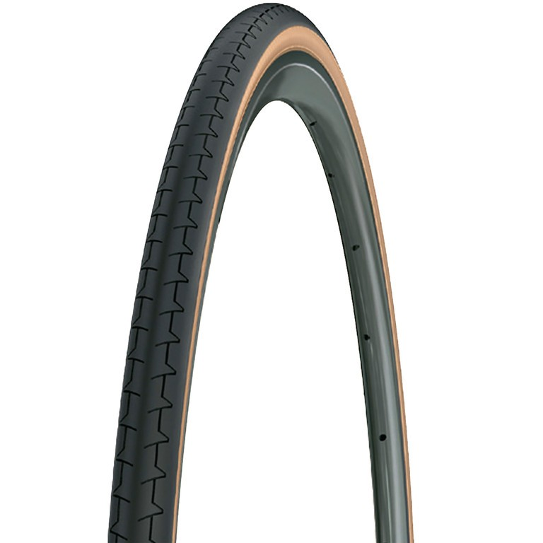 Michelin DYNAMIC CLASSIC 25-622 (700x25C), černý s hnědým bokem