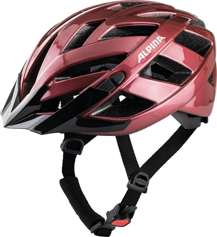 Cyklistická helma Alpina Panoma Classic, trešen vel.52-57