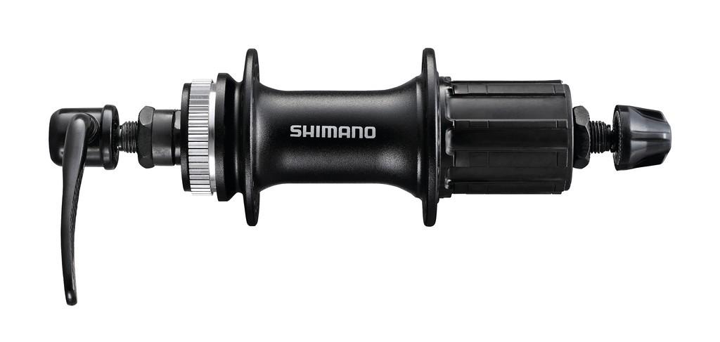 Náboj zad.kola Shimano FH-M 3050 135mm32 der, cerná, Centerlock, rychloup.