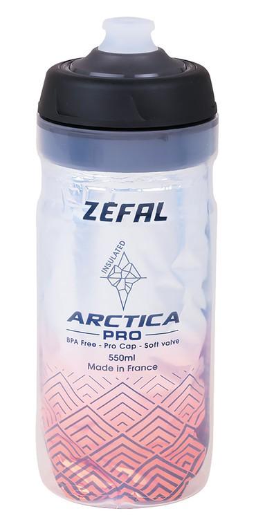 Zéfal Arctica Pro 55 stříbrná/červená(550 ml)