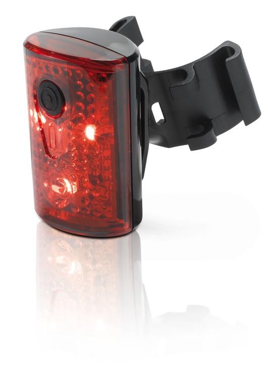 Bezpečnostní světlo XLC USB červené LED