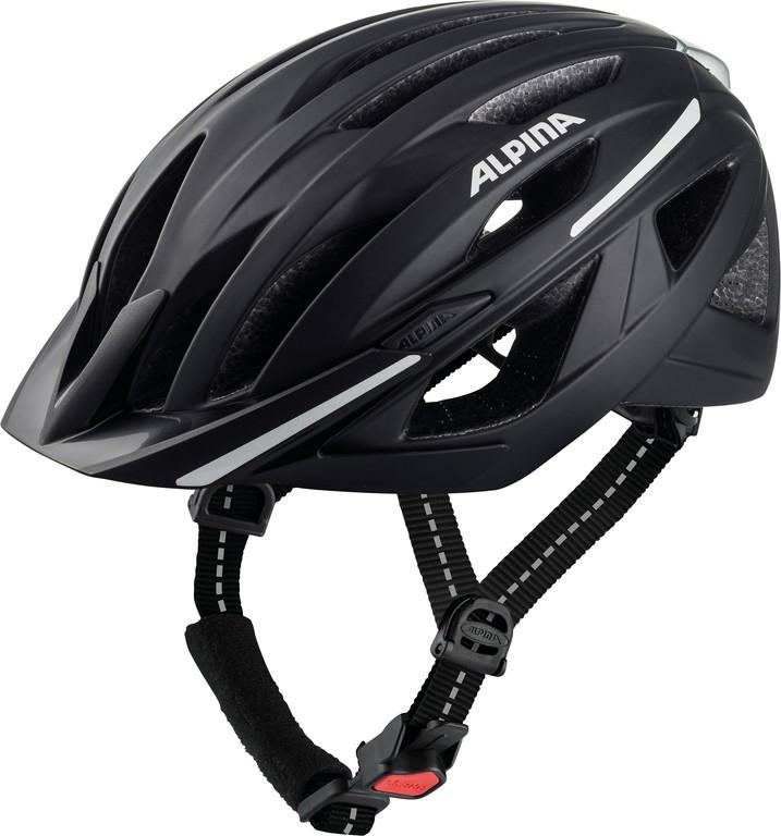Cykl.helma Alpina Haga, cerná mat. vel.51-56