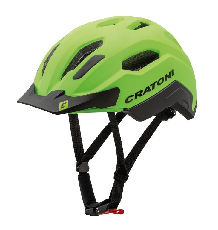 Cratoni C-Classic (City), Vel. M/L (54-58cm) neonzelená/cerná mat.