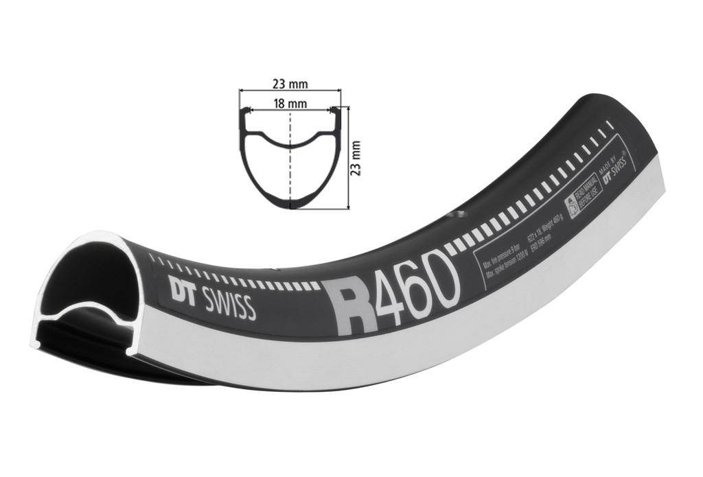 "DT Swiss R 460 28"" 622-18 VL 6,5mm 20 děr"