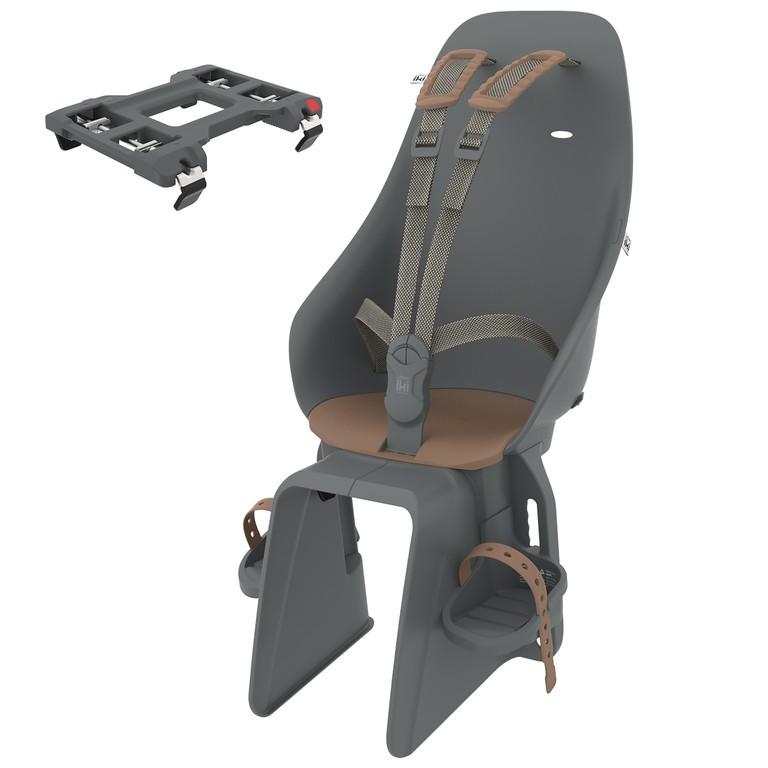 Detská sedackaUrbanIki uchycení na nosic, bincho black/kurumi brown