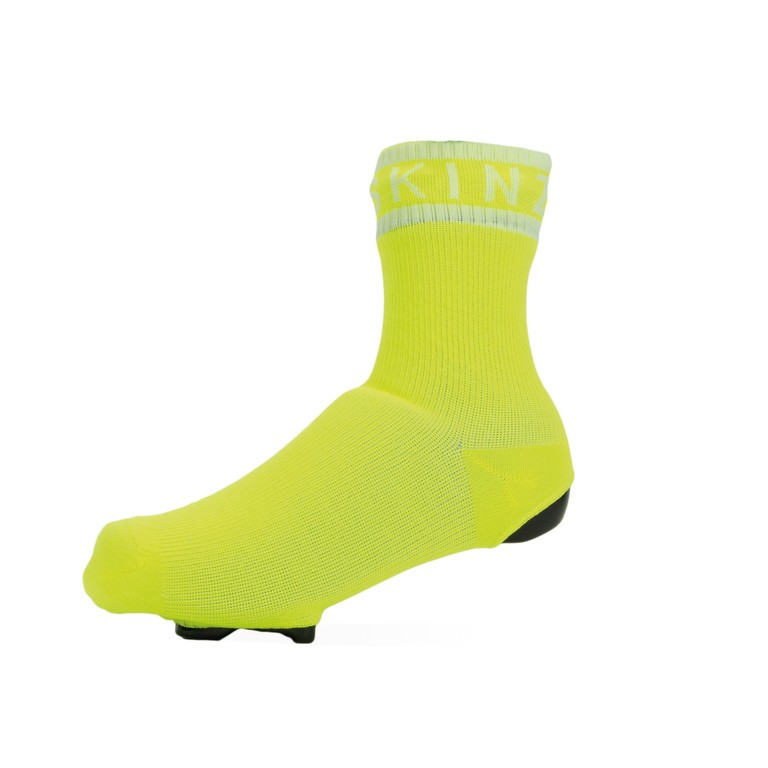 SealSkinz All Weather Cycle Oversock neonově žluté vel.S/M