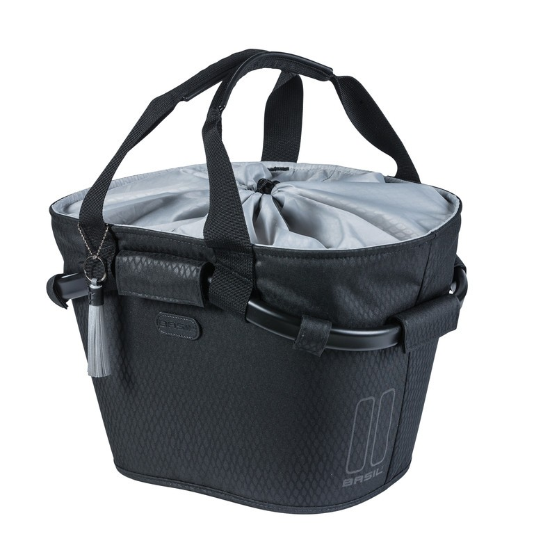 Basil Noir Carry All Front midnight black