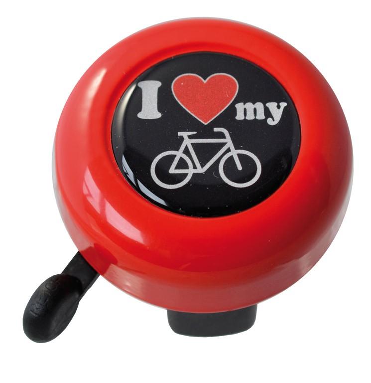Reich Motive I love my bike červená