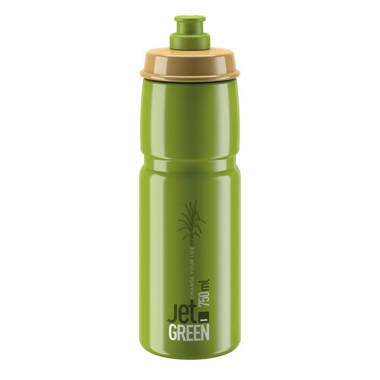 Láhev Elite Jet Green, 750ml, zelená/oliv