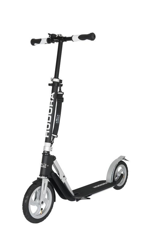Koloběžka Hudora Big Wheel Air 230 černá/stříbrná