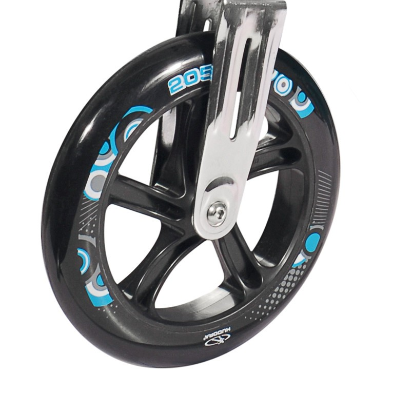 Kolečko Hudora Big Wheel 205 mm černá/tyrkysová mod.14751