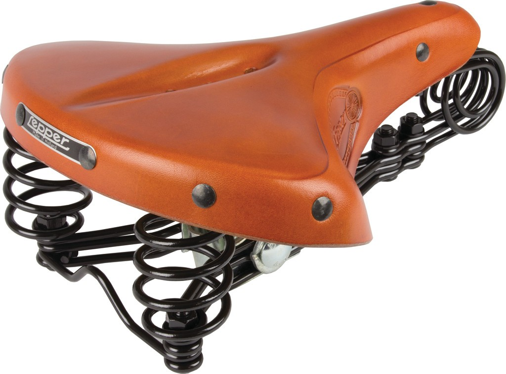 Sedlo Lepper Drieveer 90 Authentic Line, medová, Uni, 280x230x65mm, 1330g