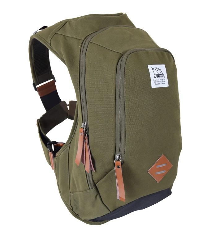 Commuter-ruksak USWE Scrambler 16,oliv.zelená bez rezervoáru na pití