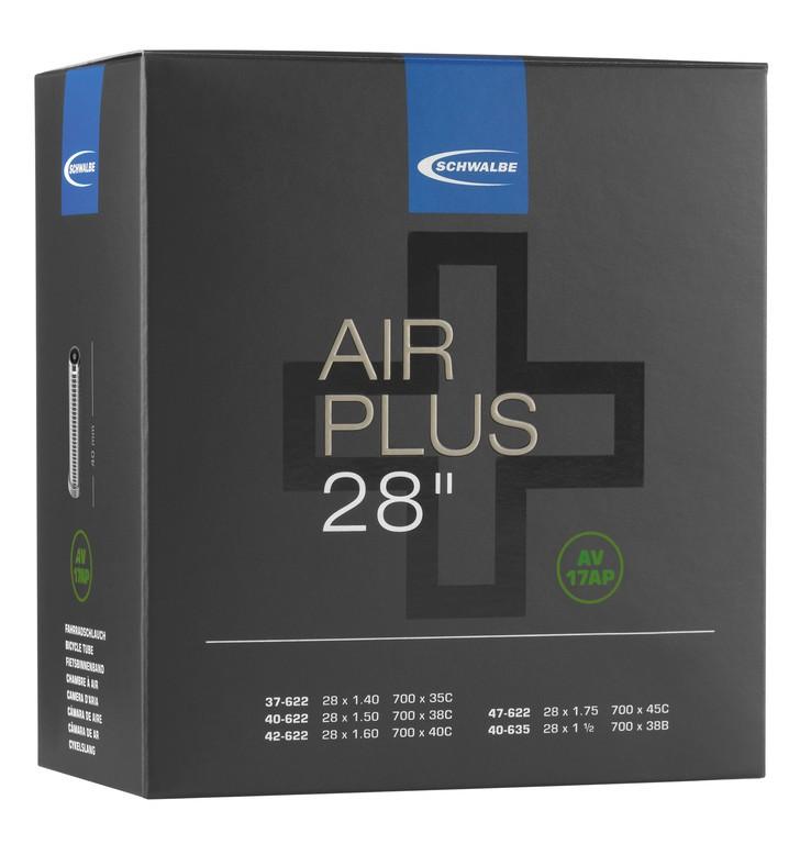 "Duše Schwalbe AV 17AP Air Plus, 28"" 37/47-622/635 IB AGV 40mm"