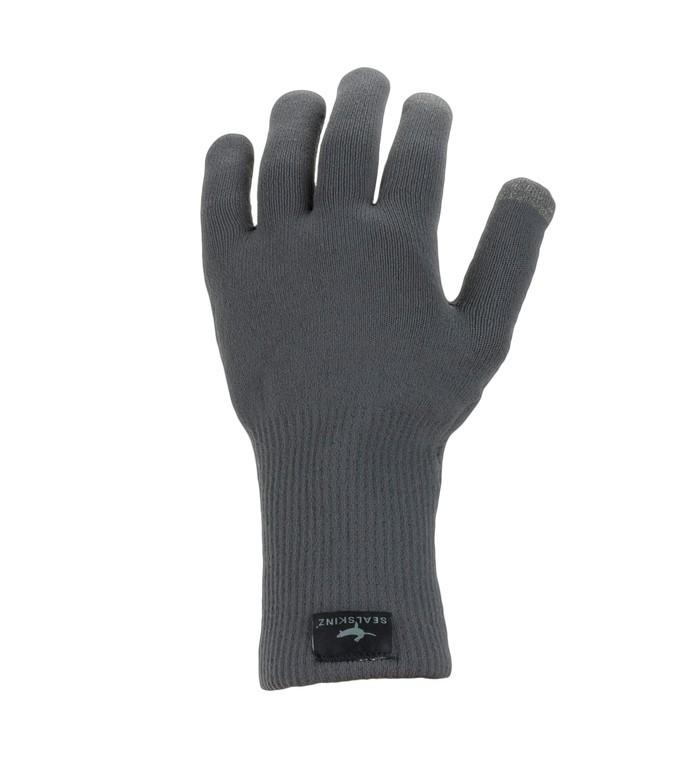 SealSkinz All Weather Ultra Grip Knitted vel.S šedé