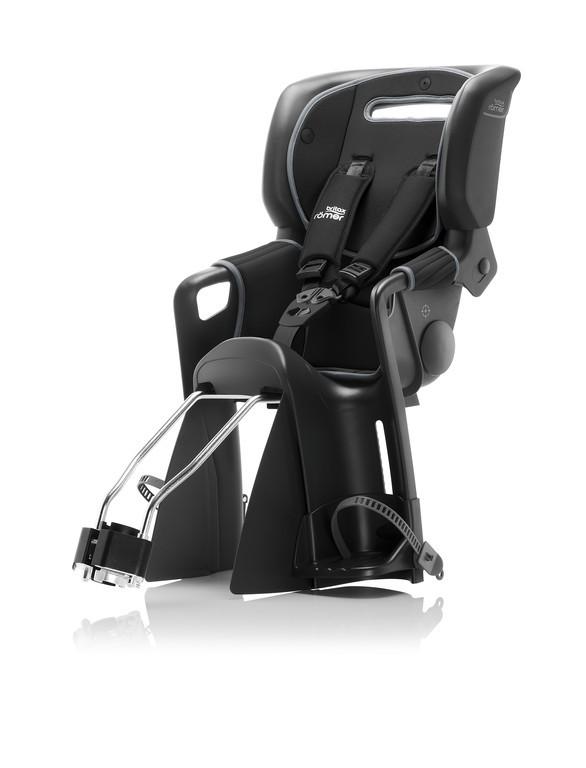 Detská sedacka Jockey³Comfort cerná, potah cerná/šedá (balení1)