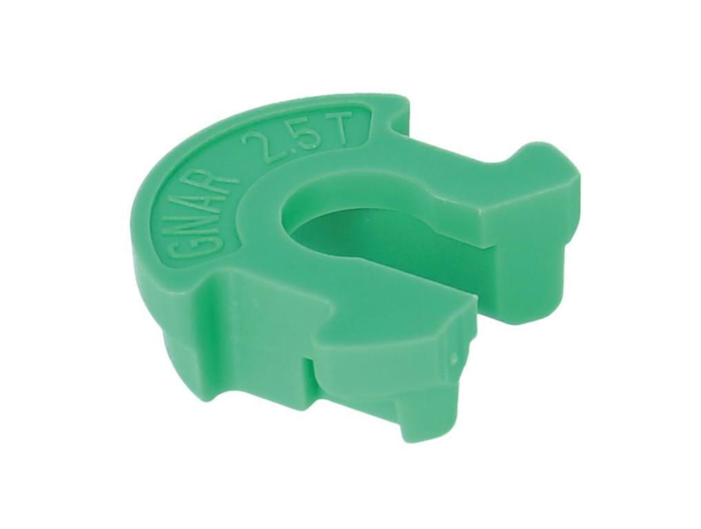 Volume Reducer set Rockshox, GNAR Dog 2.5T/15mm,zelená, zadní