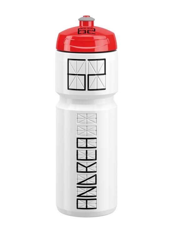 Láhev na pití Elite Nomo, 750ml, bílá/cervená