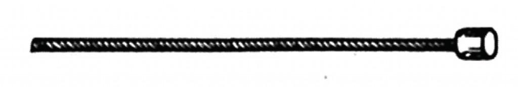 radící lanko vnitrní nerez. 3000 mm, pro SRAM náboje-otocné razení