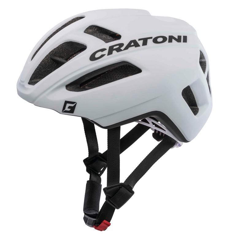 Cratoni C-Pro bílá (54-58 cm)