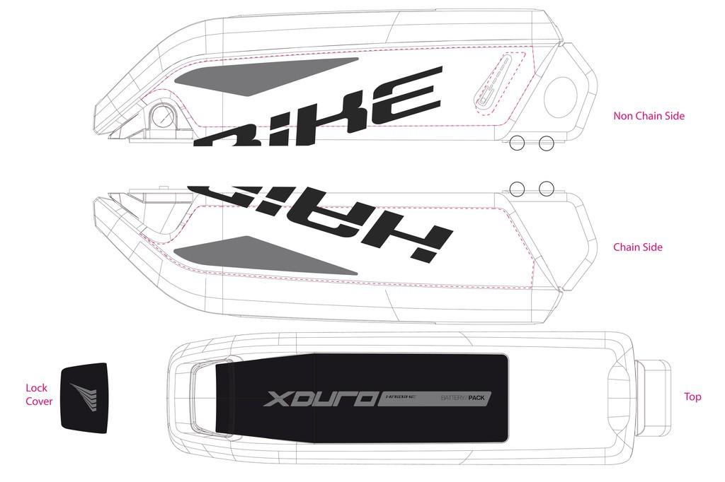 Haibike Xduro pro baterii 2015 černá/šedá