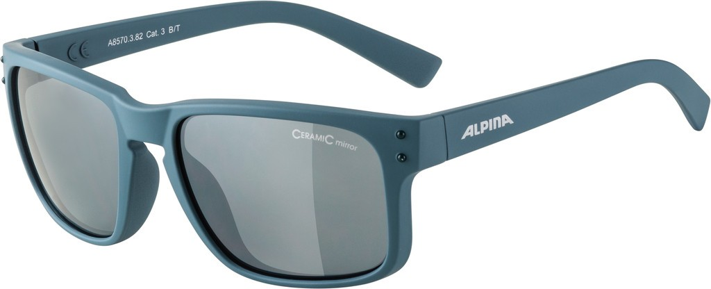 Slunecní brýle  Alpina Kosmic Obr.špinav.modr. mat. sklo cerná zrcadl.