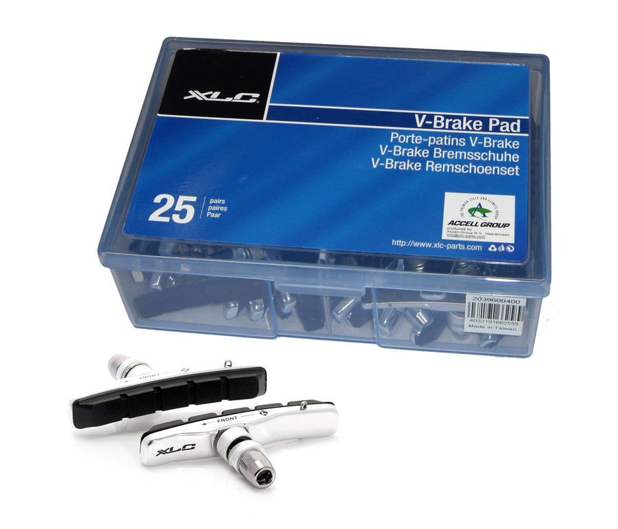 XLC Cartridge V-Brake Bremsschuhe - XLC Cartridge V-Brake Bremsschuhe