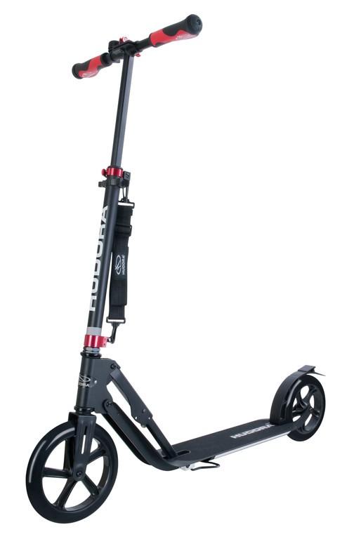 Koloběžka Hudora Big Wheel Alu 230 černá