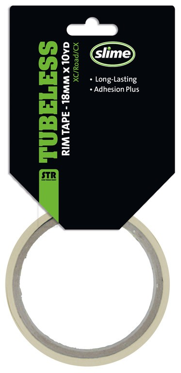Slime Rim Tape Tubeless 18mmx9,14m