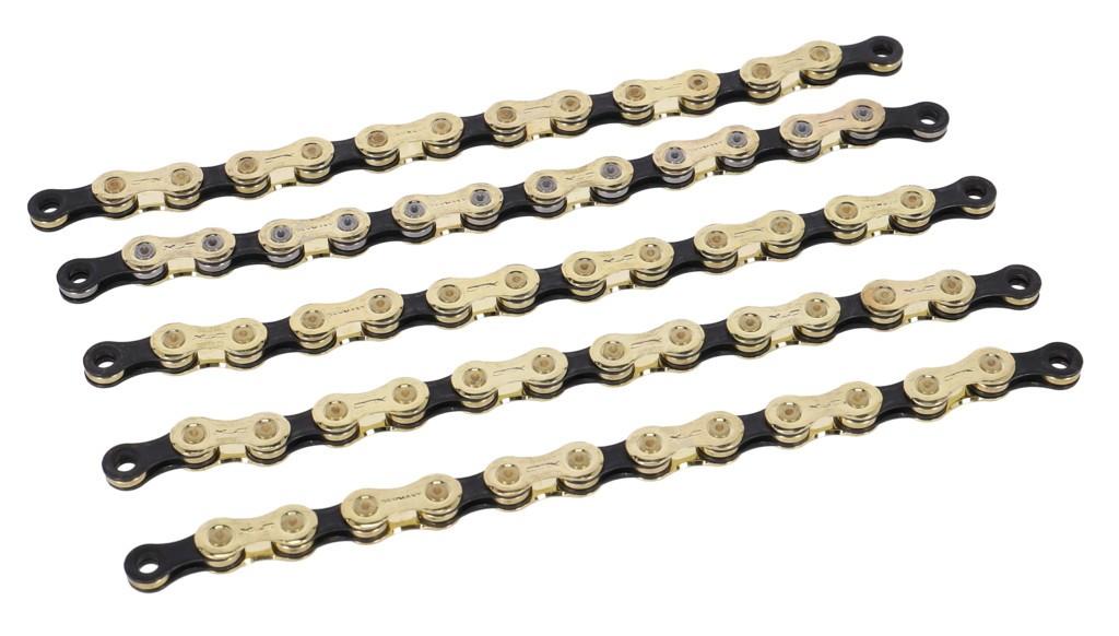 XLC CC-C05 118 článku (11 kazetu) zlatý/černý