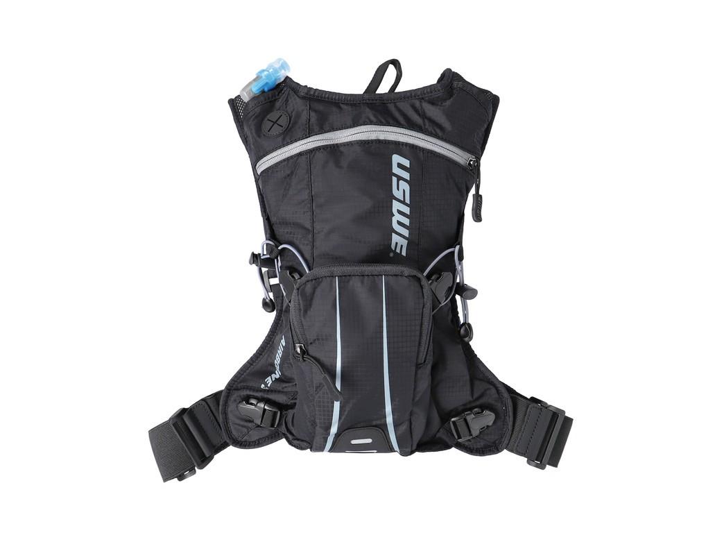 Nápoj.batoh USWE Airborne 3, cerná/šedá Mod 2020