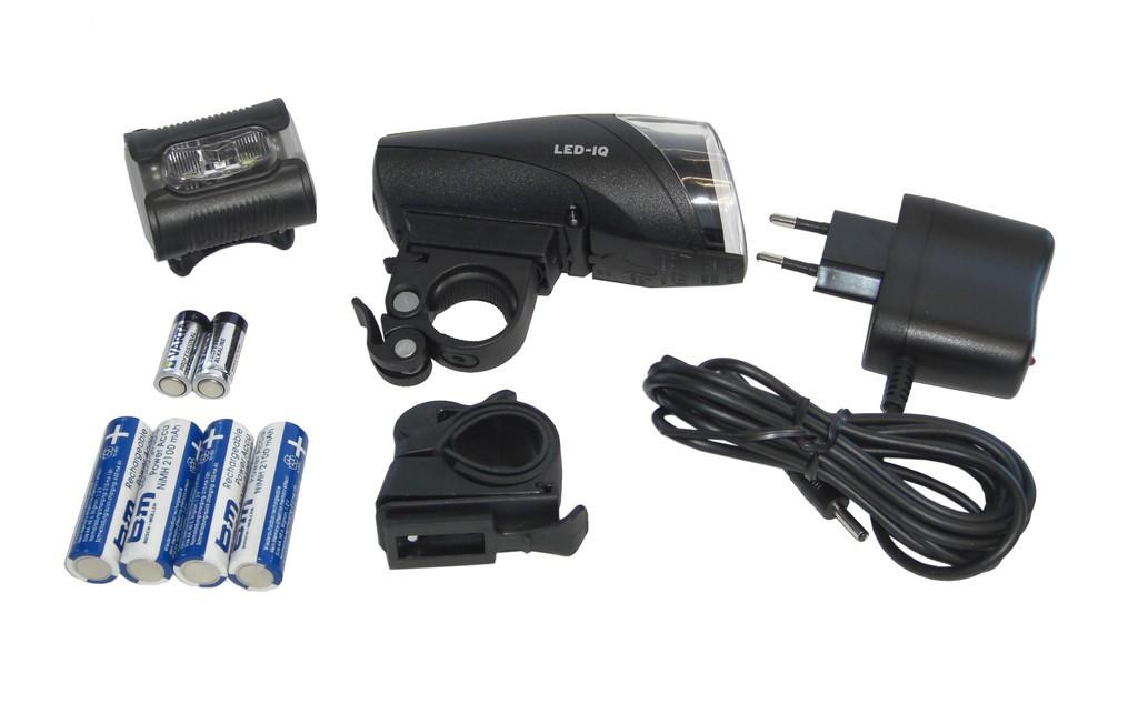 LED-Akkuscheinwerfer Set b&m Ixon IQ - LED-Akkuscheinwerfer Set b&m Ixon IQ