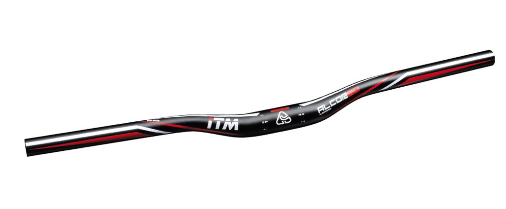 MTB ridítka ITM Alcor 80 MTB, Ø31,8 mm,640mm,cerná anodi.Al 6061 sr