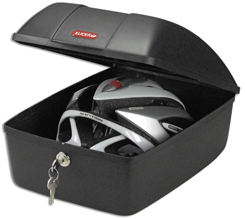 Box na nosic kola Racktime KLICKfix, cerná 25x35x18cm inkl. spojky.-ks