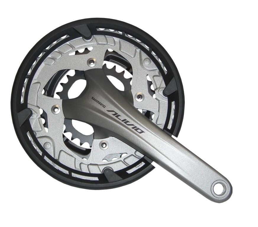 Kliky Shimano Alivio 22/32/44 zubu 170mmFC-T4060,strbr,ochr.kryt prevodn,2ks,9st
