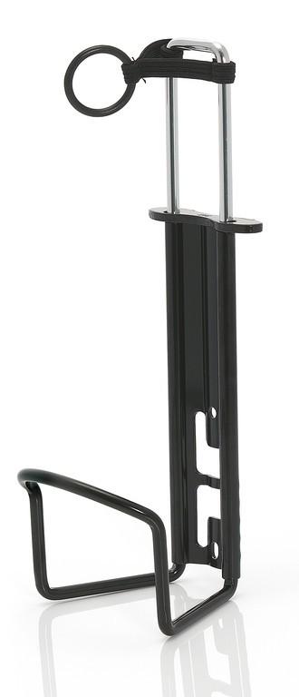 Košík na PET láhve XLC 1l černý