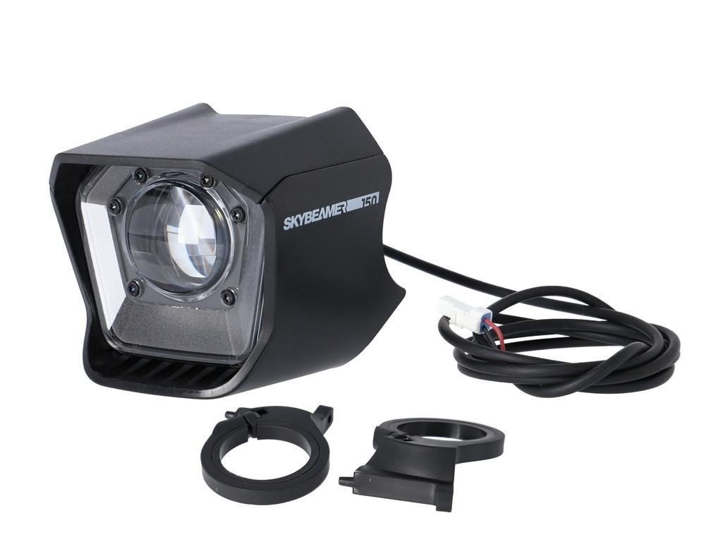 Svetlomet Haibike Skybeamer 150 AM, 50 lux, pro Yamaha